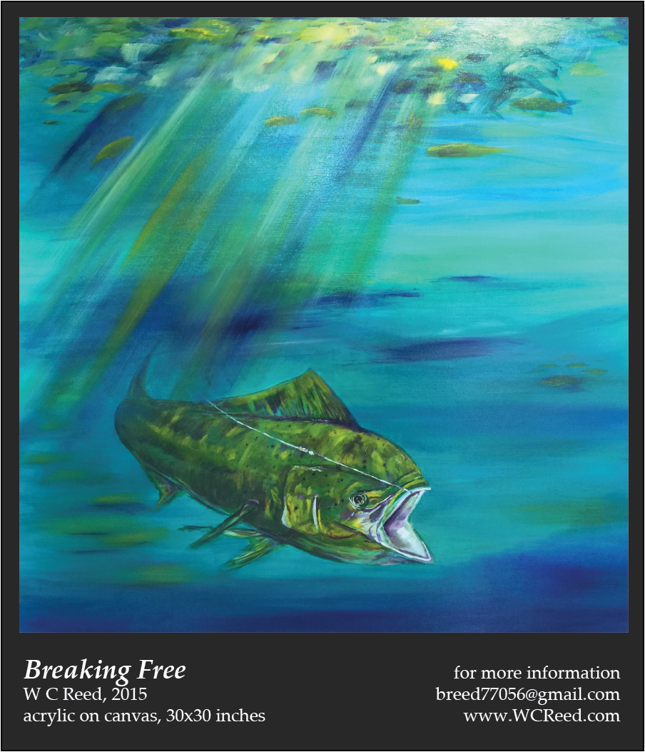 Breaking Free, an original Painting by William Reed, Acrylic on Canvas, 30 x 30