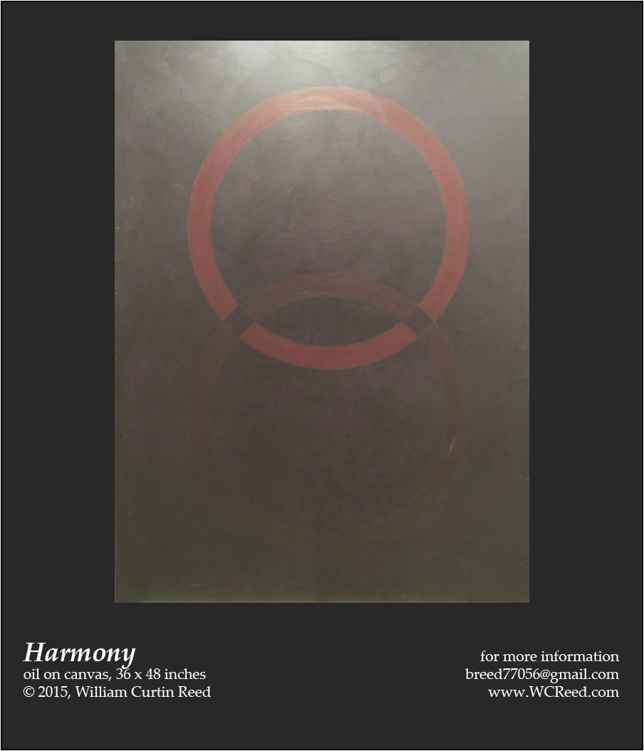 Harmony, an original Painting by William Reed, Oil on Canvas, 36 x 48